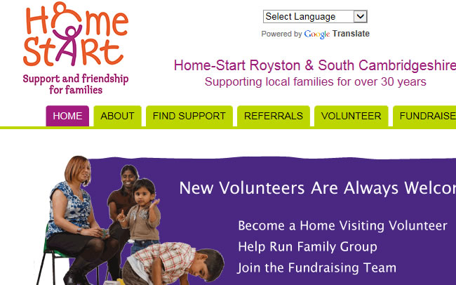 Home Start Royston South Cambs