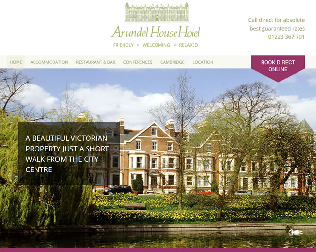 Arundel House Hotel Cambridge