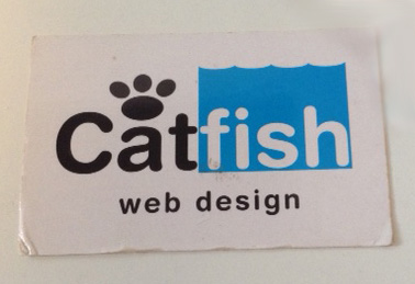 Catfish web design old logo